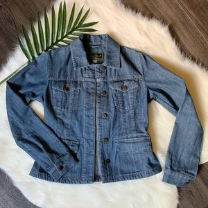 Eddie Bauer outdoor outfitters jean jacket